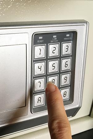 家庭用金庫 開錠